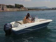 Location bateau moteur Coque open