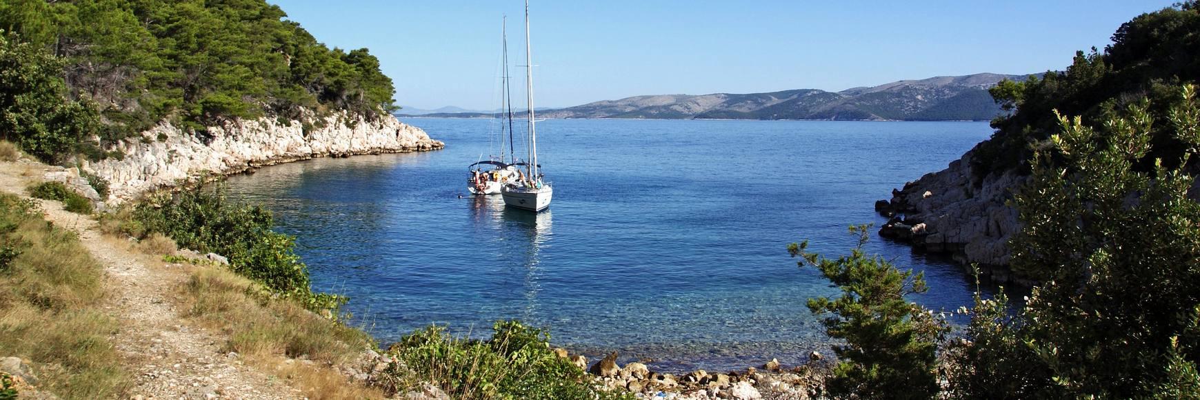Location bateau moteur Croatie