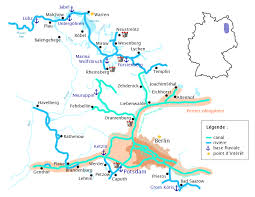 Carta fluvial allemagne