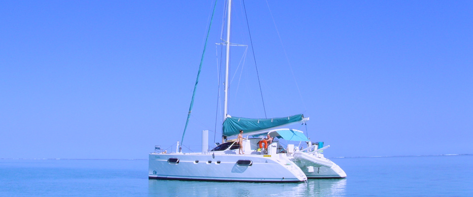 Location catamaran
