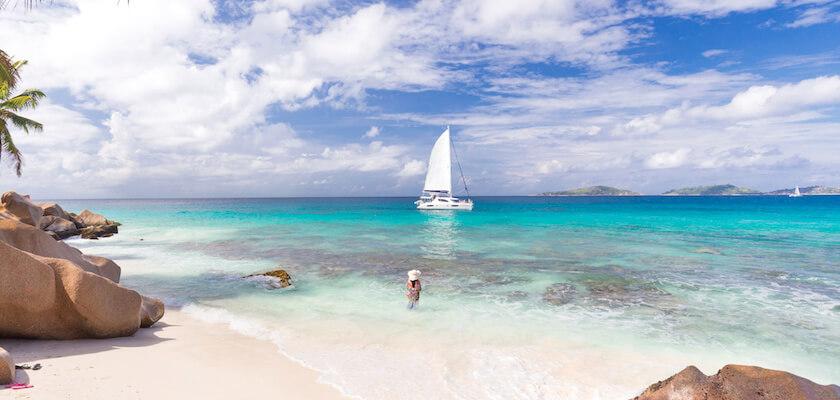 Isola La Digues, Seychelles