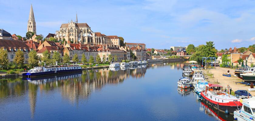 Auxerre, bords de l'Yonne