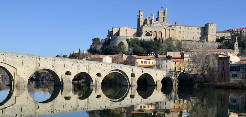 Canal à Béziers