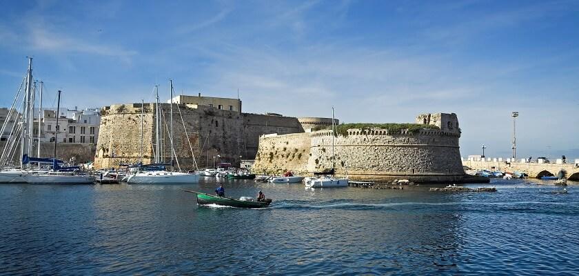 Castello di Gallipoli Puglia