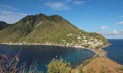 location bateau Dominica
