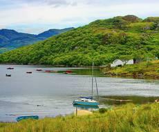 location bateau Highlands