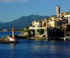 location bateau Bastia