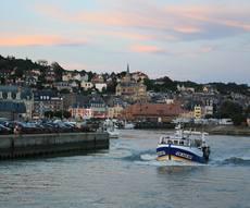 location bateau Cherbourg