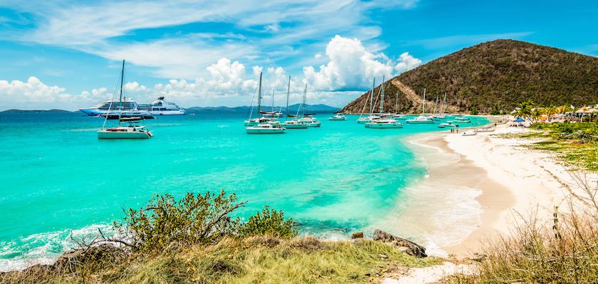Îles Vierges Britanniques Plage Tortola
