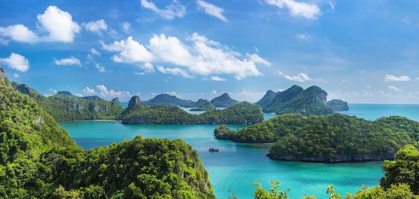 Iles de Mu Ko Ang Thong