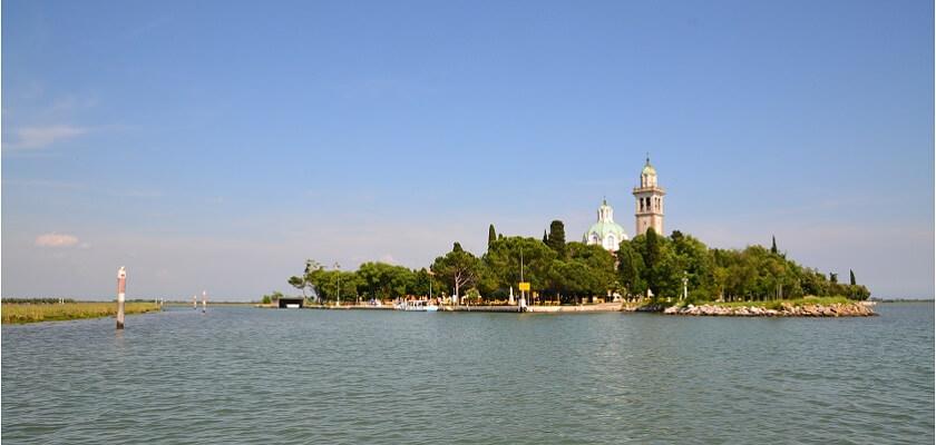 Isola di Barbana, Grado