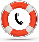 Lifebuoy and phone