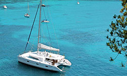 Location catamaran Antilles