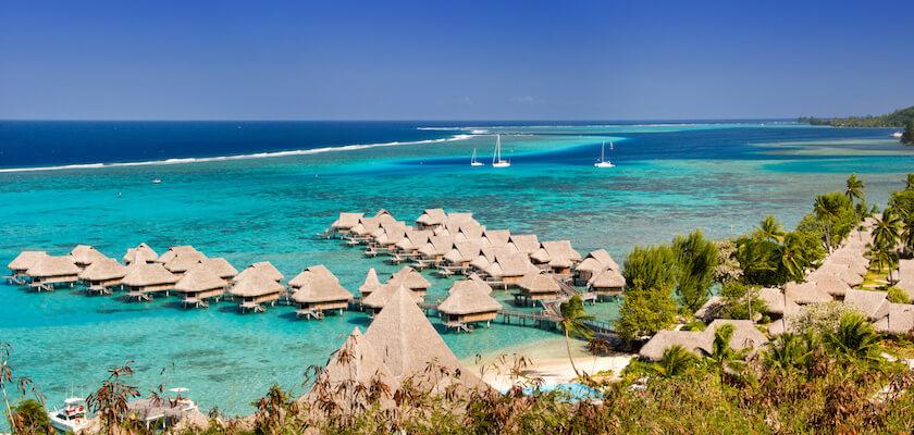 Moorea en Polynesie