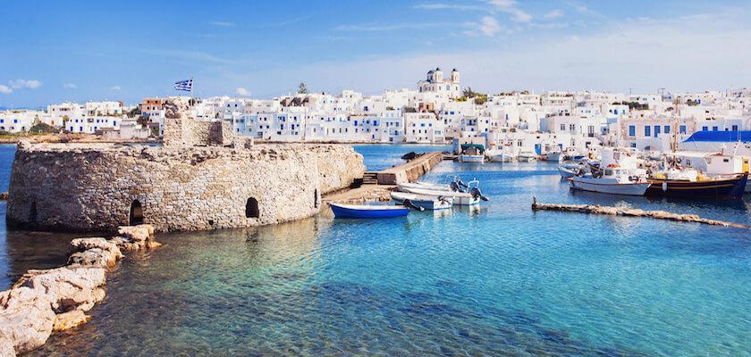 Paros dans les Cyclades