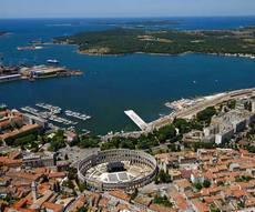 location bateau Croatia - Pula area