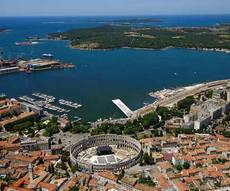 location bateau Croatie - Région de Pula