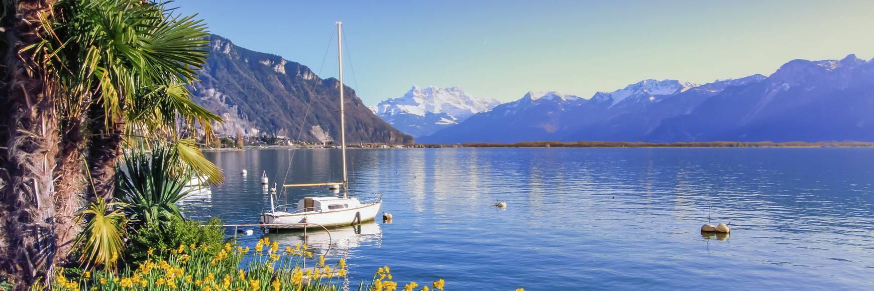 Location bateau Suisse