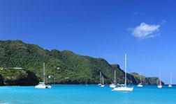 location bateau Sainte-Lucie