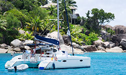 Location trimaran Seychelles