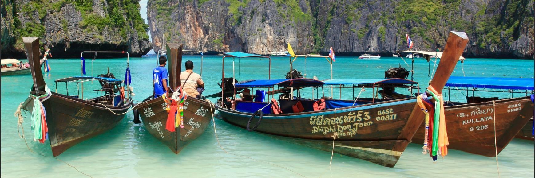 Location bateau moteur Thaïlande
