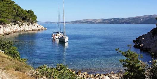barca a vela in croazia