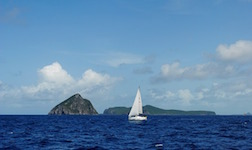 Location bateau Antigua Little Violet