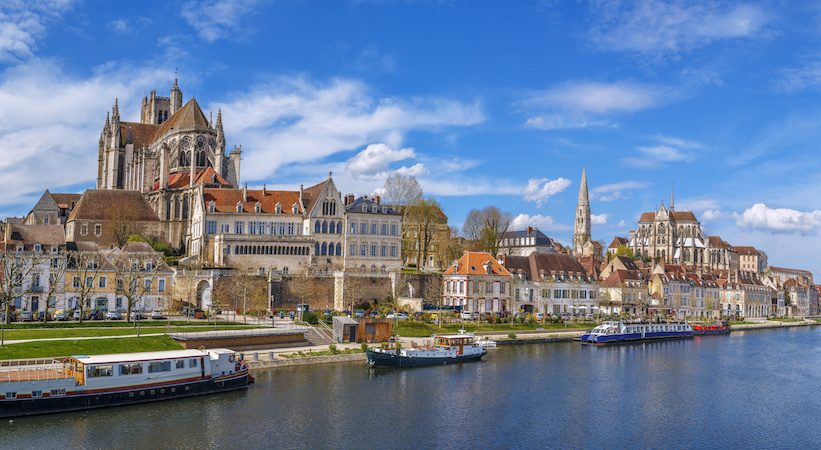 Auxerre, bords de l'Yonne