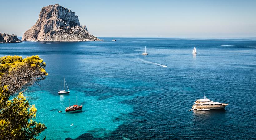 Cala d'Hort à Ibiza