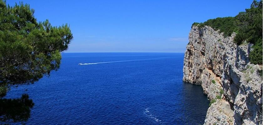 Scorcio dall'Arcipelago delle Isole Kornati