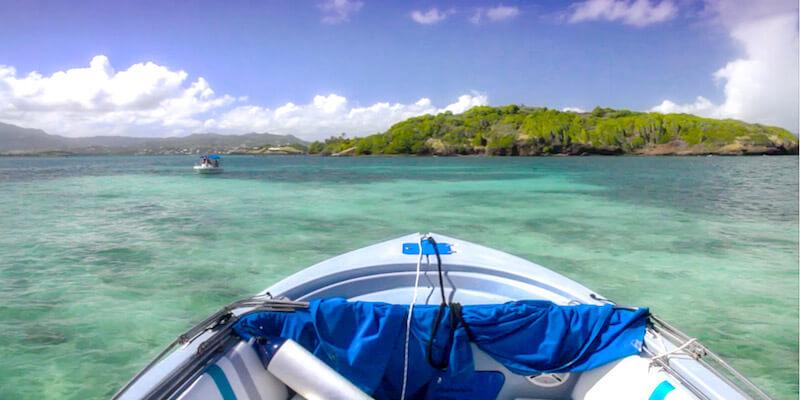 excursion bateau martinique
