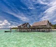 location bateau Indonesia