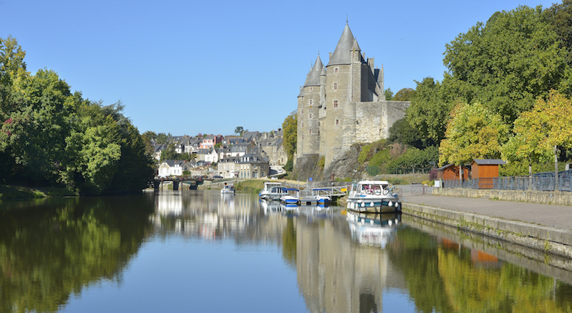 Château des Rohan à Josselin