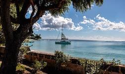 location bateau Barbados