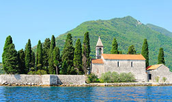 Location yacht Montenegro