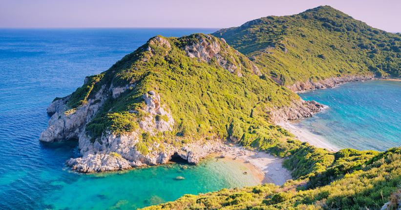 Plage Agios Georgios