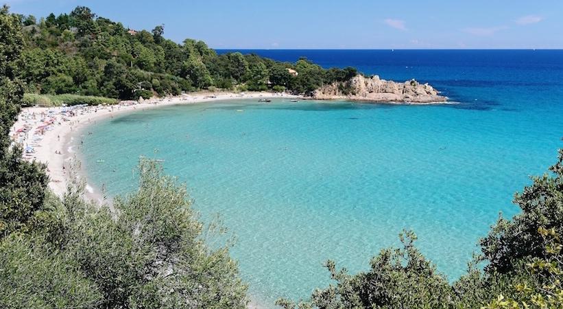 La plage de Canella