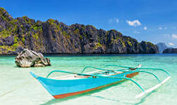 Location catamaran Philippines
