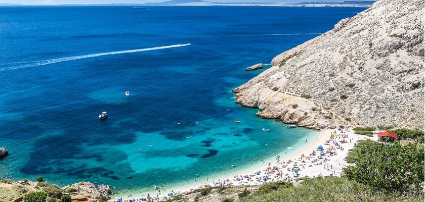 Spiaggia Oprna - Isola Krk